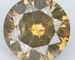0.72 cts , Champagne Natural Diamond , Loose Diamond For Jewelry
