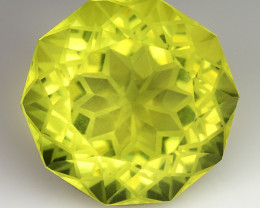 15.71 CT YELLOW LEMON QUARTS  GEMSTONE L4