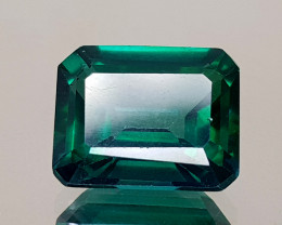 5.89Crt Green Topaz Natural Gemstones JI23