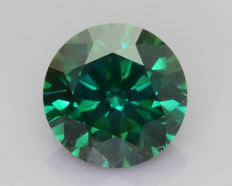 Certified Diamond 1.58 ct Rich Green AAA Brilliance  SKU-25