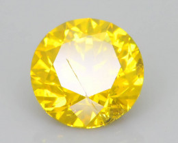 Yellow Diamond 1.01 ct Top Grade Brilliance SKU-25
