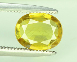 Top Clarity & Color 1.35 ct Rarest Yellow Sapphire~ Sri Lanka