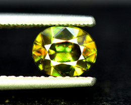 Sphene Titanite, 1.40 CT Natural Full Fire Sphene Titanite Gemstone