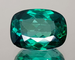 5.62CT GREEN TOPAZ BEST QUALITY GEMSTONE IIGC48