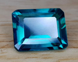 4.91CT GREEN TOPAZ BEST QUALITY GEMSTONE IIGC48