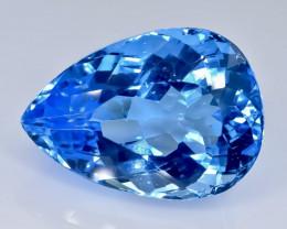 36.89 Crt Topaz Faceted Gemstone (Rk-16)