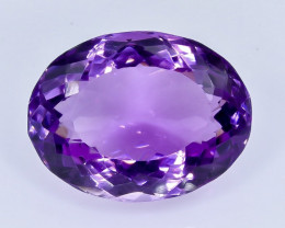14.74 Crt Amethyst Faceted Gemstone (Rk-16)