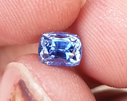 UNHEATED CERTIFIED 1.18 CTS NATURAL BEAUTIFUL CORNFLOWER BLUE SAPPHIRE CEYL