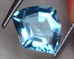 2.76ct Natural Sky Blue Topaz Fancy Cut Lot D466