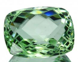 ~CUSTOM CUT~ 17.35 Cts Natural Prasiolite / Amethyst Fancy Cut Brazil