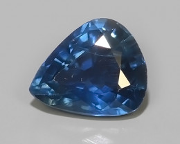 0.90 CTS EXCELLENT NATURAL ULTRA RARE MADAGASCAR  BLUE SAPPHIRE!$250.00