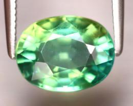 Apatite 2.28Ct Natural Paraiba Green Color Apatite DF1920/B44