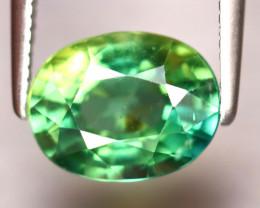 Apatite 2.23Ct Natural Paraiba Green Color Apatite DF1921/B44