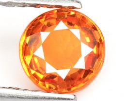 0.70 Cts Amazing Rare Natural Fancy Orange Sapphire Loose Gemstone