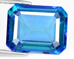 3.67 Cts Rare Fancy Blue Color Natural Azotic Topaz