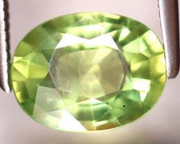 Apatite 2.02Ct Natural Paraiba Green Color Apatite EF2020/B44