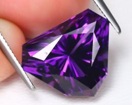 Uruguay Amethyst 6.66Ct VVS Master Cut Natural Violet Amethyst B1179