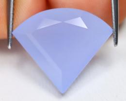 Chalcedony 8.97Ct Fancy Cut Natural Blue Chalcedony B1117