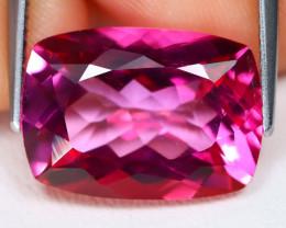 Pink Topaz 9.51Ct VS Octagon Cut Natural Vivid Pink Topaz B1120