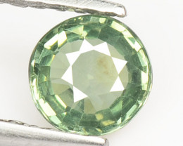 0.56 Cts Amazing Rare Natural Fancy Green Sapphire Loose Gemstone