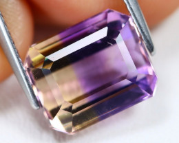 Ametrine 5.42Ct VS Octagon Cut Natural Bolivian BiColor Ametrine B1139