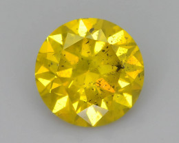 Yellow Diamond 1.01 ct Top Grade Brilliance SKU-25