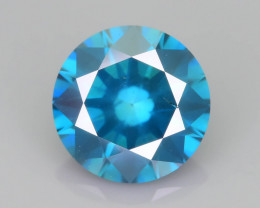 Teal Blue Diamond 1.01 ct Top Grade Brilliance SKU-25
