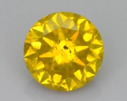 Yellow Diamond 1.14 ct Top Grade Brilliance SKU-25