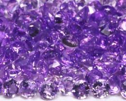 Amethyst 3.20Ct Calibrate 1.5mm Natural Purple Amethyst Lot B1200