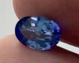 Pretty Luminous Oval Blue Ceylon Sapphire - Ref 2362