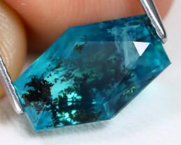 Paraiba Opal 2.95Ct Master Cut Natural Dendrite Blue Opal B1222