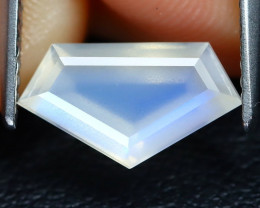 Blue Moonstone 1.67Ct Master Cut Natural Ceylon Blue Moonstone B1224