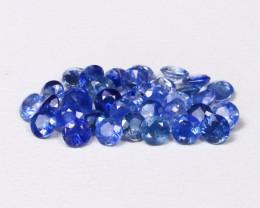 Sapphire 1.52Ct Calibrate 2.0mm Natural Blue Sapphire Lot B1235
