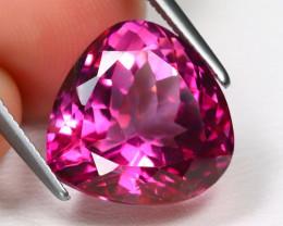 Pink Topaz 9.32Ct VS Trillion Cut Natural Pink Color Topaz B1238
