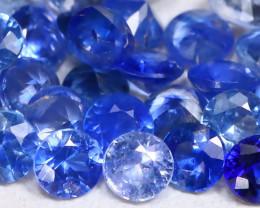 Blue Sapphire 1.60Ct Calibrate 2.2mm Natural Blue Sapphire Lot B1163