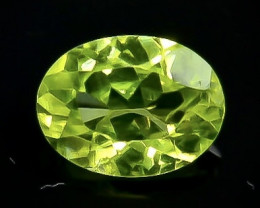 1.24 Crt Natural Peridot Faceted Gemstone.( AB 42)