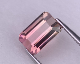 2.24 Cts Amazing Charm Pink/Bubble Gum Pink Bi Color Tourmaline VVS