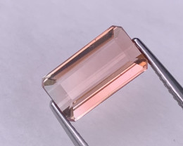 2.42 Cts Top Quality Pink Bi Color Natural Tourmaline Fine Luster