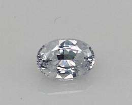 0.965 Ct White Sapphire - Untreated