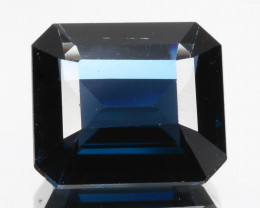 ~EMERALD CUT ~ 1.92 Cts Pretty Natural Cobalt Blue Spinel Sri Lanka