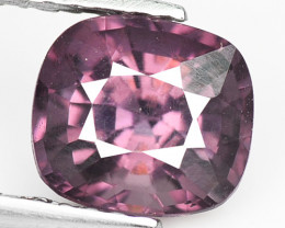 Spinel 1.59 Cts Un Heated Very Rare Purple Pink Color Natural Gemstone