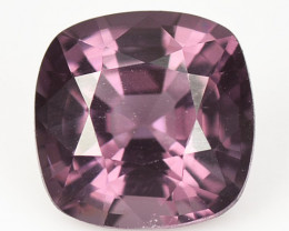 1.71 Cts Un Heated Very Rare Purple Pink Color Natural Spinel Gemstone