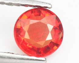 0.62 Cts Amazing Rare Natural Fancy Orange Red Sapphire Loose Gemstone
