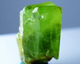 NR!!!! 17.85 CTs Natural - Unheated Green Peridot Crystal