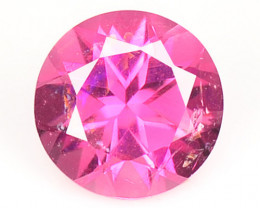 0.44 Cts Un Heated Pink Color Natural Tourmaline Loose Gemstone