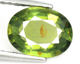 1.03 Cts Un Heated Green Color Natural Tourmaline Loose Gemstone