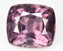 1.48 Cts Un Heated Very Rare Purple Pink Color Natural Spinel Gemstone