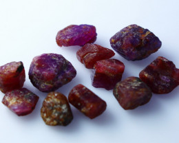 NR!!!! 57.50 CTs Natural - Unheated Pink Ruby Rough Lot