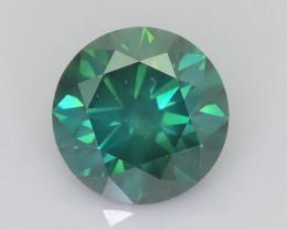 Eye Clean Green Diamond 1.20 ct Top Grade Brilliance SKU-25