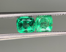 0.95 Carats  Natural Emerald Gemstone